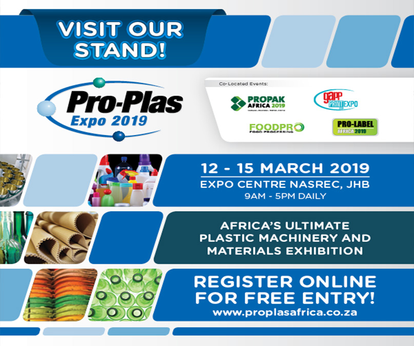 Discover the Future of Packaging at Propak Africa 2019